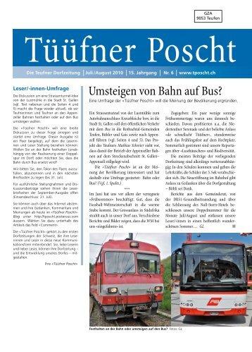 Tüüfner Poscht Ausgabe 06 / 2010