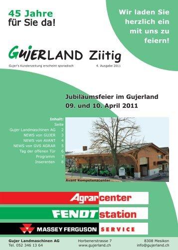 LAND Ziitig - Gujer Landmaschinen