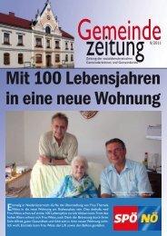 Gemeinde Zeitung 09/2011 - SPÖ Traisen
