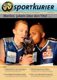 Sportkurier PDF - TSV Crailsheim 1846 eV
