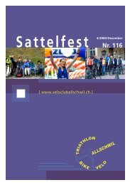 Sattelfest Nr. 116 - VC Allschwil