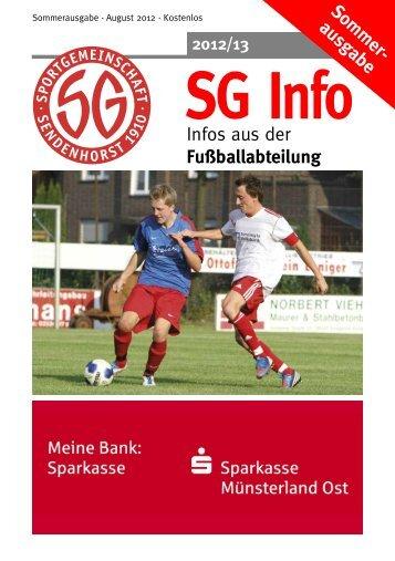 unsere partner - SG Sendenhorst - Fußball