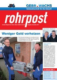 Ausgabe Dezember 2011 (PDF) - Gebr. Wachs