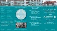 Samstag, 20. Oktober 2012 09.00 - Thun