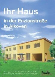 Ihr Haus in der Enzianstraße in Alkoven - Familie in Linz