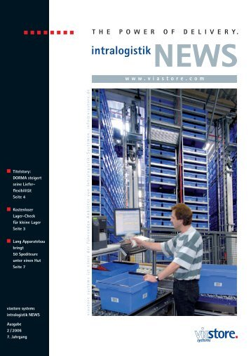 intralogistik NEWS - Viastore Systems GmbH