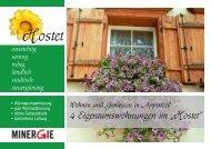 """4 Eigentumswohnungen im """"Hostet"""" - Sanitär Wirth AG"""