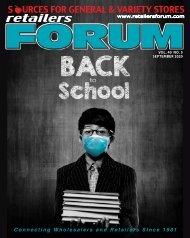 Retailers Forum Magazine Sept. 2020 EMAG