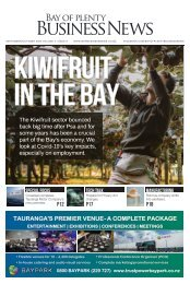Bay of Plenty Business News - September/October 2020