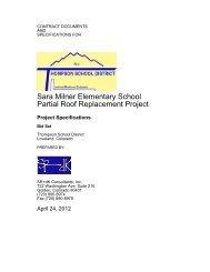 K:\SR+dK\Thompson Schools - Sara Milner\Cover sheet.wpd
