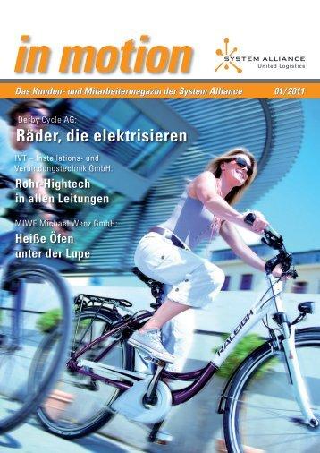 Räder, die elektrisieren - System Alliance