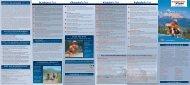 Detaillierter Plan der Rad- und Wanderwege als Download