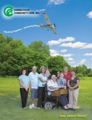 2008 annual report - Chamber of Commerce of Eastern Connecticut