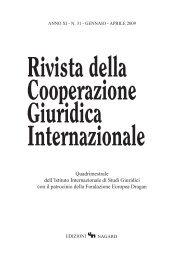2009 - Società Italiana di Diritto Internazionale