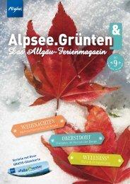 Alpsee Grünten & - Das Allgäu Ferienmagazin