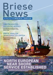 NORTH EUROPEAN NEAR SHORE SERVICE ESTAblISHEd