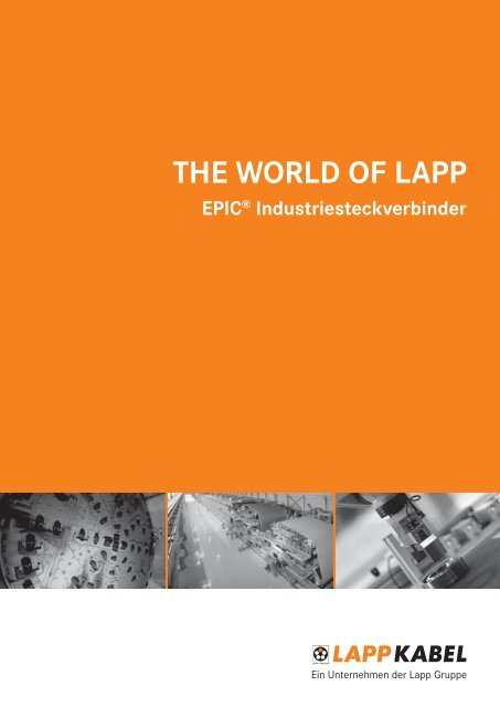 THE WORLD OF LAPP N INE - Bachofen AG