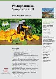 Phytopharmaka- Symposion 2011 - European Compliance Academy