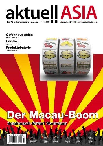 Der Macau-Boom - Aktuell ASIA