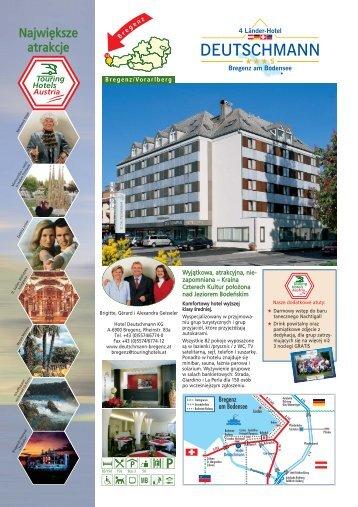 250815 Flyer Deutschmann A4 polnisch - Hotel Deutschmann