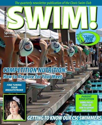 COMPETITION NUTRITION: - Clovis Swim Club