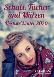 Schal Katalog Herbst 2020