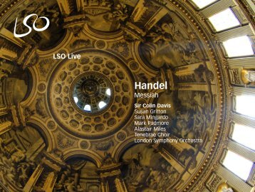 Handel: Messiah - Sir Colin Davis - London Symphony Orchestra