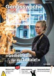Genusswoche Basel Magazin 2020