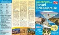PDF   Grosse Jubiläumsreise: Israel-Erlebnisreise