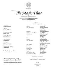 The Magic Flute - San Francisco Opera