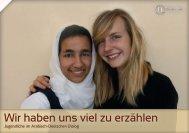 Wir haben uns viel zu erzählen - unesco-projekt-schulen Deutschland