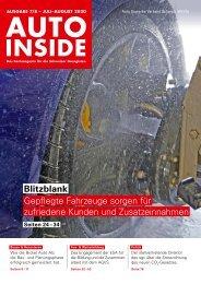 AUTOINSIDE Ausgabe 7/8 – Juli/August 2020