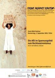 Web-Seminar: Die AfD im Spannungsfeld zum Rechtsextremismus