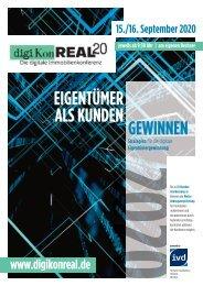digiKonREAL 20 - Die digitale Immobilienkonferenz