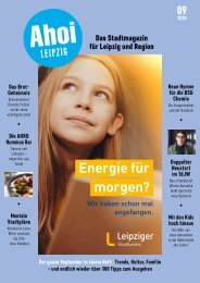 Ahoi Leipzig, Ausgabe September 2020