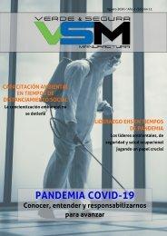 Edición 11. Agosto 2020. Revista Verde & Segura Manufactura