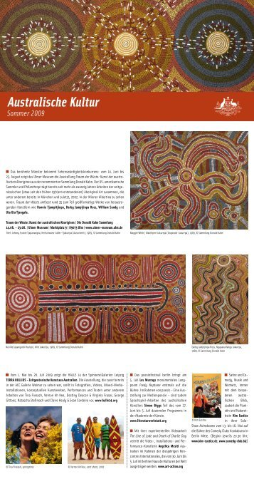 Australische Kultur Sommer 2009 - Australische Botschaft, Berlin