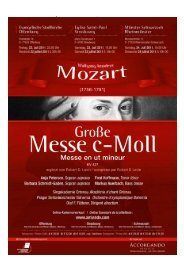 WA Mozart: Große Messe in c-Moll KV 427 - Accordando Projects