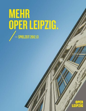 ariadne auf naxOs - Oper Leipzig