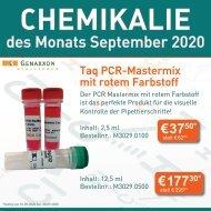 Chemikalie des Monats September 2020