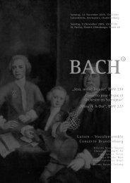 bachtm - Luisen – Vocalensemble