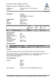 GUTACHTEN zur ABE Nr. 45622 nach §22 Stvzo Anlage 3 zum ...