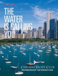 2020 Chicago Yacht Club Brochure