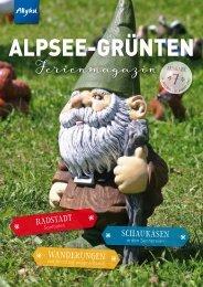 Alpsee Grünten &- Das Allgäu Ferienmagazin