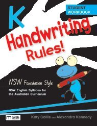 Handwriting Rules! NSW Foundation Style