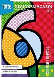 Töfte Regionsmagazin 09/2020 -  Wir feiern unseren 6. Gebrutstag