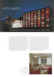HOTEL SARATZ - Porsche Club Deutschland