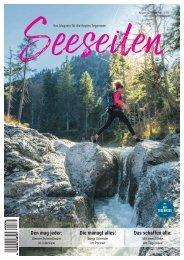 Seeseiten – das Magazin für die Region Tegernsee, Nr. 62, Ausgabe Herbst 2020