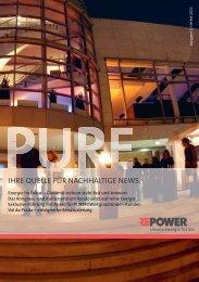 Val da Prada – Renaturierung und weitere laufende ... - Repower