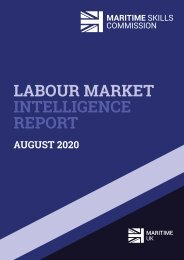 Maritime Skills Commission - Labour Market Intelligence Scoping Report - August 2020